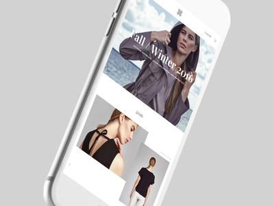Olivieri homepage mobile