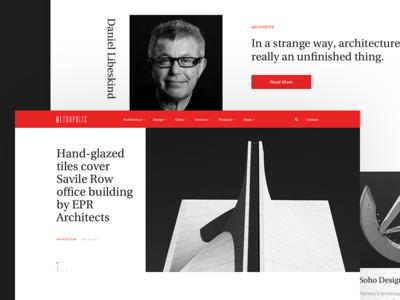 Metropolis homepage