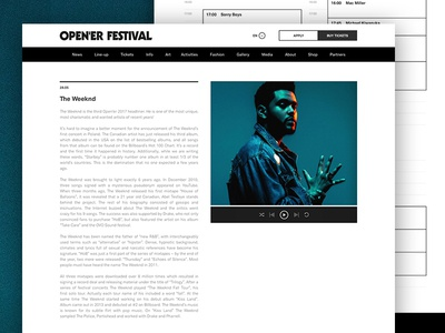 Open'er Article Page