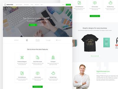 Design Pickle homepage