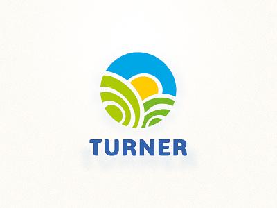 Turner illustration brand identity sleep food hotel breakfast logo design logo