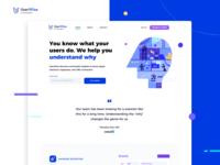 UserWise Website clean landing page webdesign interface website ux ui illustration fireart studio fireart