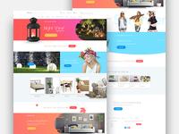 E-store website