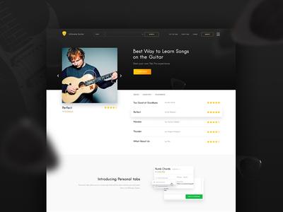 Ultimate Guitar Redesign music guitar us ui redesign website fireart studio fireart