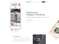 Kikstagram homepage3