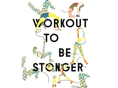 Poster Workout to be stronger