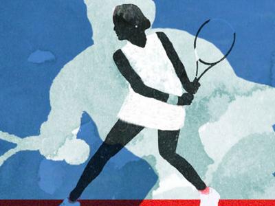 Tennis im flow