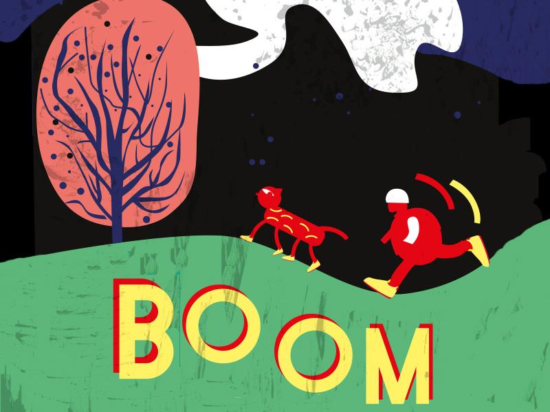 BoomboomBerlin sport nature park workout drawing illustration running berlin music