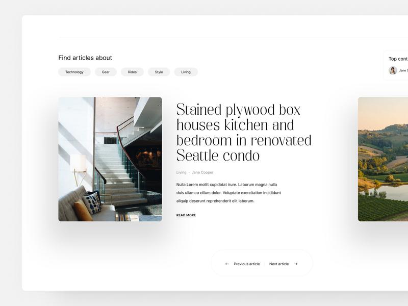 Blog articles minimal figmadesign blog design figma blog modern ux ui