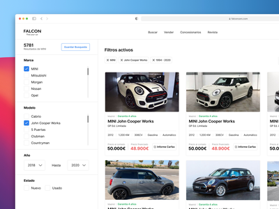 Buy cars online product cars modern concept uiux ux ui figma product design productdesign