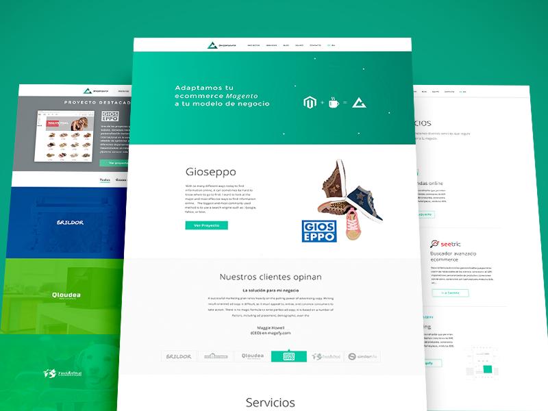 Devopensource Redesign devopensource ecommerce ui web design magento ecommerce agency ux