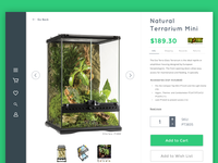 Product Page Concept for a Pet Supplies Ecommerce