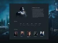 Batman Profile Dribbble