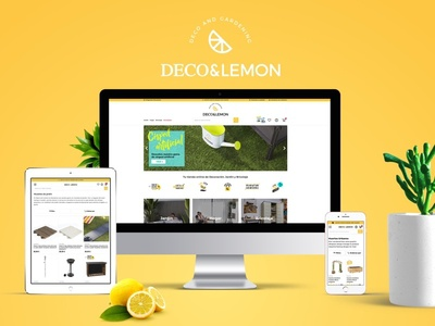 Deco&Lemon sketch product garden mobile ux ui magento e-commerce ecommerce