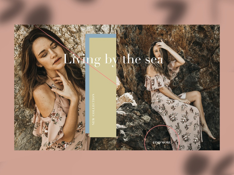 By The Sea Concept figmadesign figma product concept fashion shop modern ux ui e-commerce ecommerce