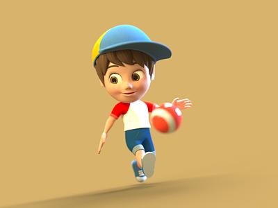Boy Character Design 3d 3d character modeling 3d character design 3d character octane render cinema 4d animation 3d model 3d animation 3d modeling