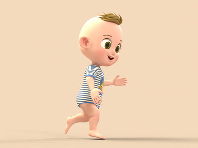 Baby Boy 3D Character 3d 3d character modeling 3d character design 3d character octane render cinema 4d animation 3d model 3d animation 3d modeling