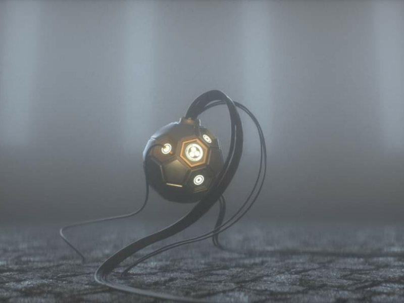 Abstract animation 3d modeling 3d octane render cinema 4d