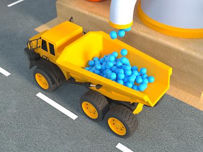 Playground 002 octane render cinema 4d animation 3d art 3d model 3d animation 3d 3d modeling