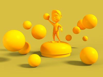 Playground 005 octane render cinema 4d animation 3d art 3d model 3d animation 3d 3d modeling