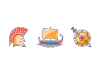Ancient Greece icons