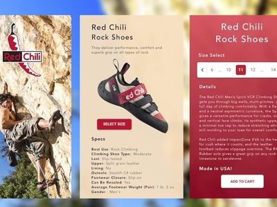 Red Chili Shoes App