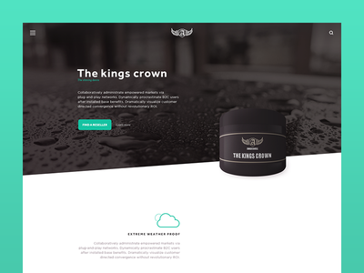 Product Page WIP white wip ui video packaging mint iconography icons black product web
