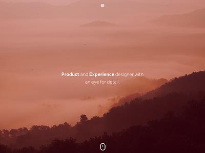 2015 Portfolio Preview portfolio wip red orange photography header mobile first ui web typography icons