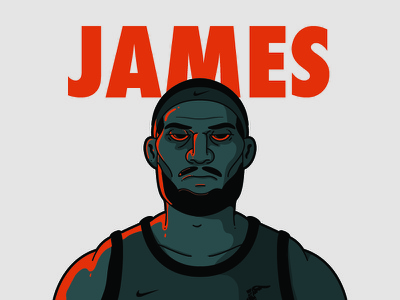 Lebron James vector street cavs james illustration drawing character lebron basketball art