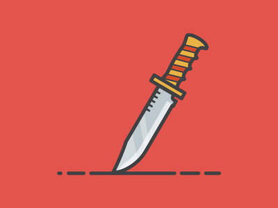 Dagger weapons design illustration dagger