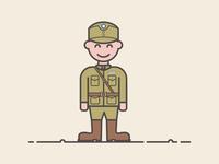 Major general officer