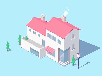3D building design illustrations building 3d