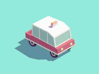 Car design illustration car
