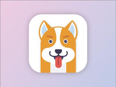 Dog icon pet app start icon dog
