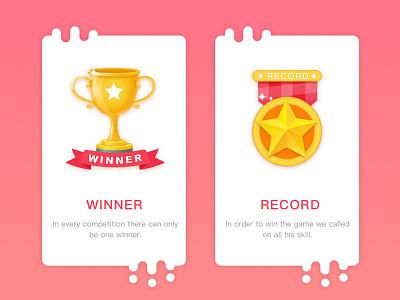 Winner and record winning results record winner