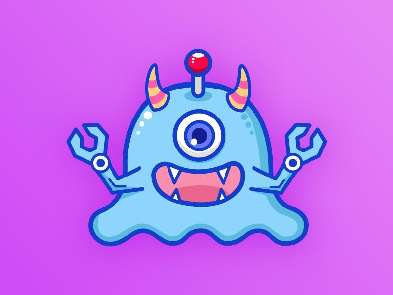 Little monsters app ui icon monsters little