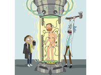 Rick And Morty Comission