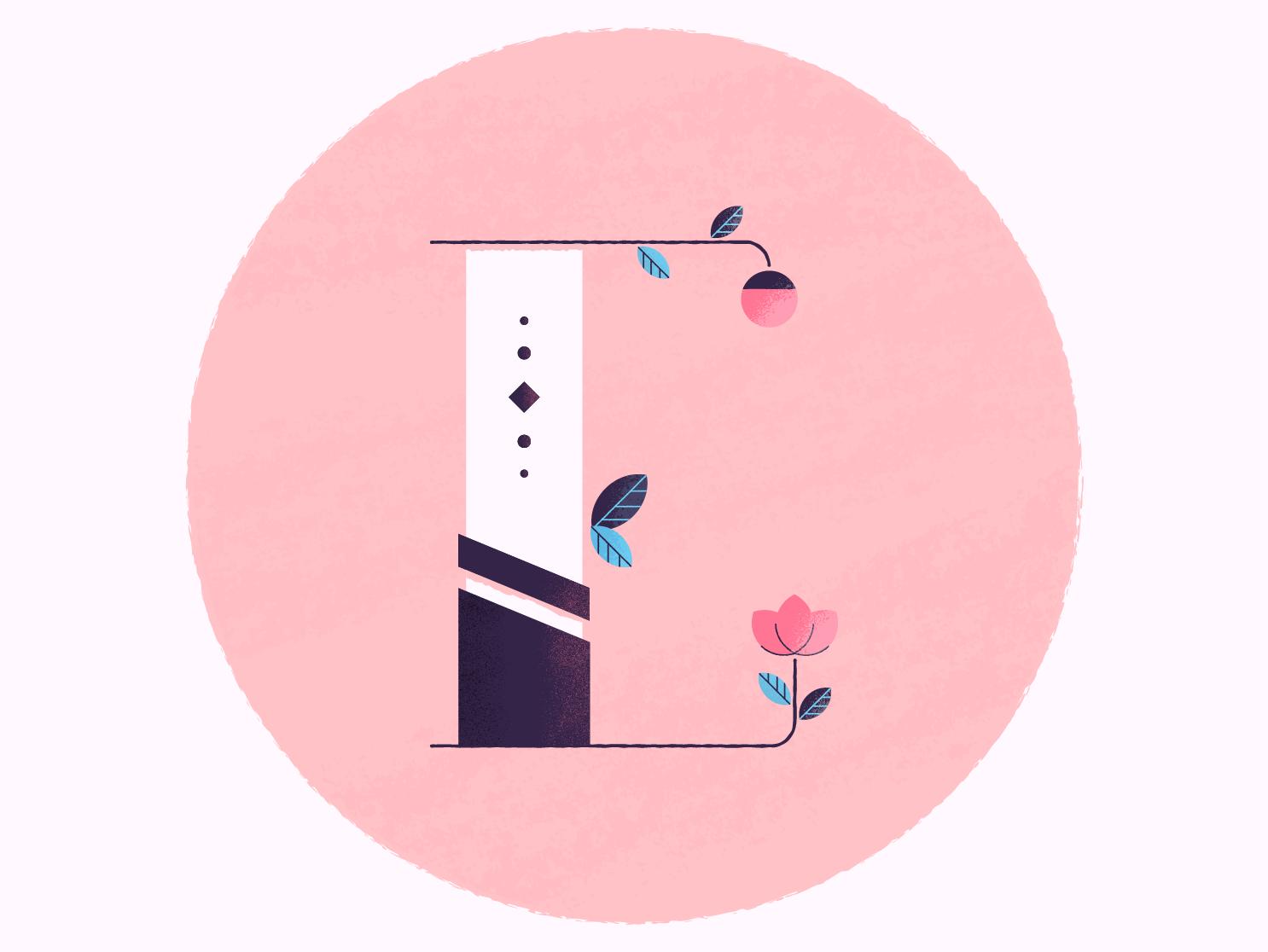Ethics typography design vector design vector letter e gouache brushes brushes texture lettering illustration letter