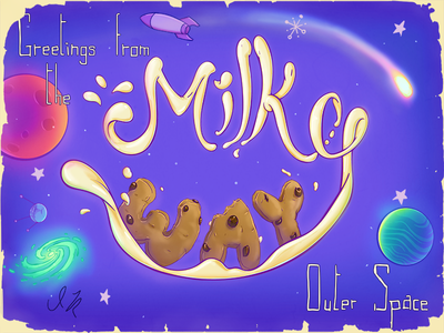 Greetings from the Milky Way