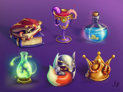 Animalistic game objects