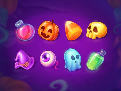 Halloween Game Items