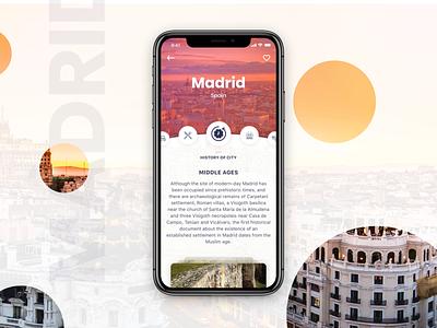 Travel App trip iphonex iphone ux event travel design app 2018 ios ui