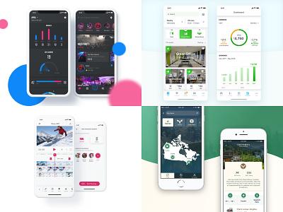 2018 clean white blue clean app event iphone design 2018 ios app ux ui