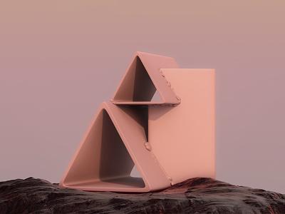 PRIMITIVES /1 art c4d render sculpture minimal 3d