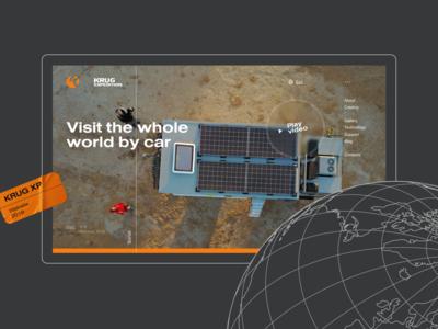 Forwarding vehicles website - KRUG XP