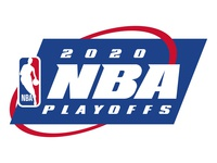 2020 NBA Playoffs (remake) remake remade simplicity 90s concept vector recreate updated typography symmetrical symmetry sports nba playoffs nba finals nba logo basketball the last dance 2020