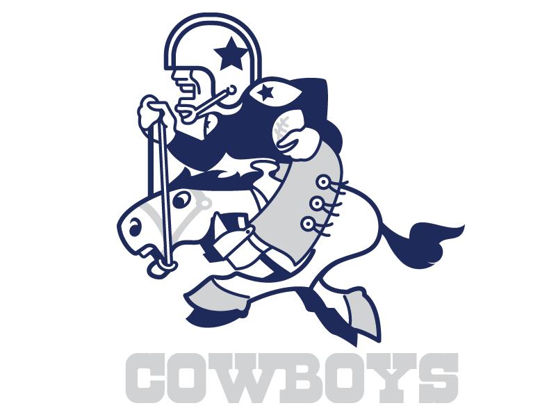 Dallas Cowboys Throwback Logo  texas nfl throwback update sports logo vintage retro dallas football espn dallas cowboys