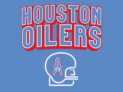 Houston Oilers Throwback Logo