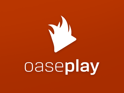 Logo for OasePlay logo grow fire play