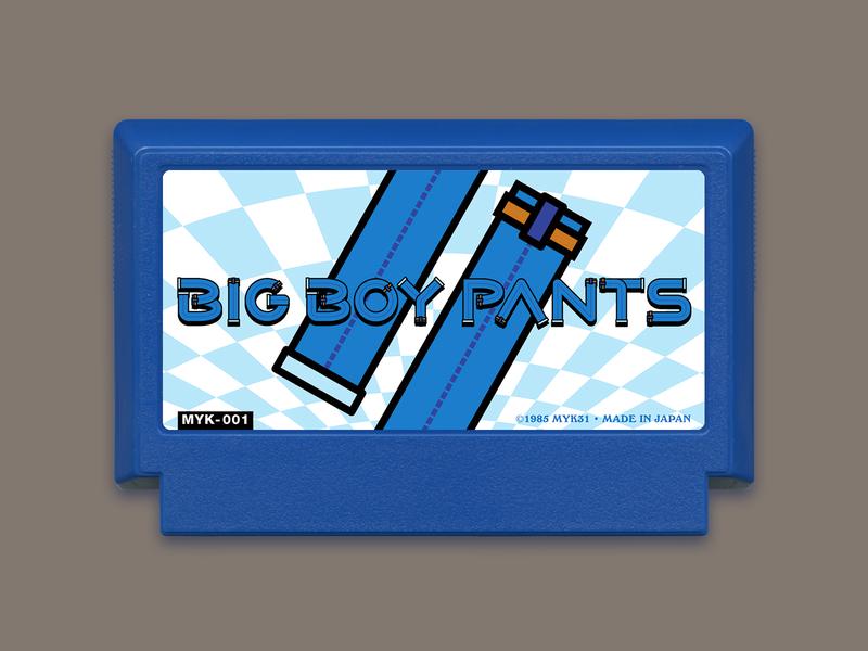My Famicase 2020 – Big Boy Pants nintendo gaming retro famicase 2020 famicase famicom 8 bit